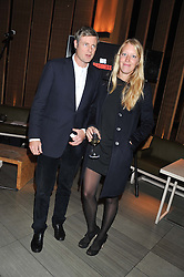 ZAC GOLDSMITH and ALICE ROTHSCHILD at the Pig Business Fundraiser, Sake No Hana, St.James's, London on 26th September 2012.