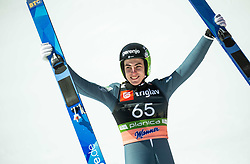 Timi Zajc (SLO) reacts during the Trial Round of the Ski Flying Hill Individual Competition at Day 1 of FIS Ski Jumping World Cup Final 2019, on March 21, 2019 in Planica, Slovenia. Photo by Vid Ponikvar / Sportida