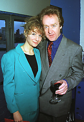 MISS STEFFANI PITT daughter of actress Ingrid Pitt and her fiancee MR ARTHUR BLAKE, at a party in London on 8th April 1999.MPW 48