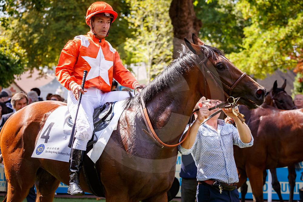 Tres Belaffair (A. Roussel) wins Prix Du Hong Kong Jockey Club in Deauville, France 15/08/2017, photo: Zuzanna Lupa