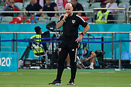 Coach Rob Page of Wales during the UEFA Euro 2020, Group A football match between Turkey and Wales on June 16, 2021 at Baku Olympic Stadium in Baku, Azerbaijan - Photo Orange Pictures / ProSportsImages / DPPI