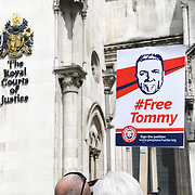 FreeTommy Rally: Support Appeal Against Imprisonment, London, UK