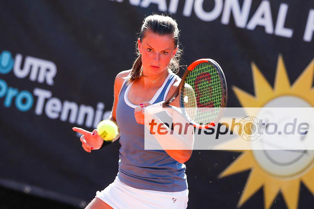 Quirine Lemoine (NED) - WTA-Ranking #432 bei der International Premier League (IPL) am 6.8.2020 in Halle (TC Blau-Weiss Halle), Deutschland , Foto: Mathias Schulz