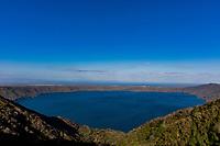 Laguna de Apoyo volcano lake landscapes Granada in Nicaragua