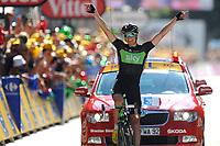 CYCLING - TOUR DE FRANCE 2011 - STAGE 17 - Gap > Pinerolo (179km) - 20/07/2011 - PHOTO : VINCENT CURUTCHET / DPPI - BOASSEN HAGEN (NOR) / SKY / WINNER