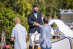 Lelie Walter, BEL<br /> Belgian Championship 6 years old horses<br /> SenTower Park - Opglabbeek 2020<br /> © Hippo Foto - Dirk Caremans<br />  13/09/2020