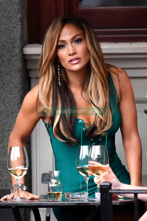 April 25, 2019 - New York, New York, U.S. - Jennifer Lopez was seen on location filming 'Hustlers' on April 25, 2019 in New York City. (Credit Image: © Kristin Callahan/Ace Pictures via ZUMA Press)