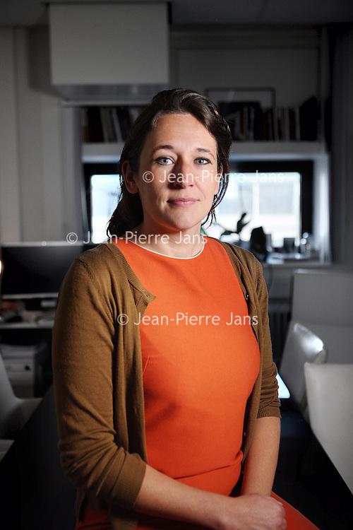 Nederland, Amsterdam , 16 februari 2015.<br /> Andrea Maier (1978) is de jongste hoogleraar interne geneeskunde van Nederland. Haar specialisme is ouderengeneeskunde. In haar oratie verbaast zij zich over het aanhoudende geklaag over de vergrijzing. Dat de gemiddelde levensverwachting nog steeds stijgt, noemt zij een eclatant succes van de geneeskunde.<br /> Foto:Jean-Pierre Jans