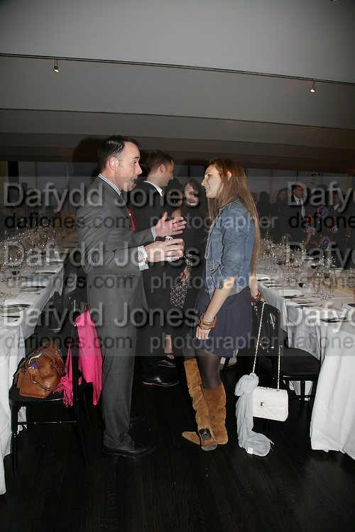 DAVID FURNISH AND ELIZABETH KABLER, Dali and Film. Tate Modern. 30 May 2007.  -DO NOT ARCHIVE-© Copyright Photograph by Dafydd Jones. 248 Clapham Rd. London SW9 0PZ. Tel 0207 820 0771. www.dafjones.com.