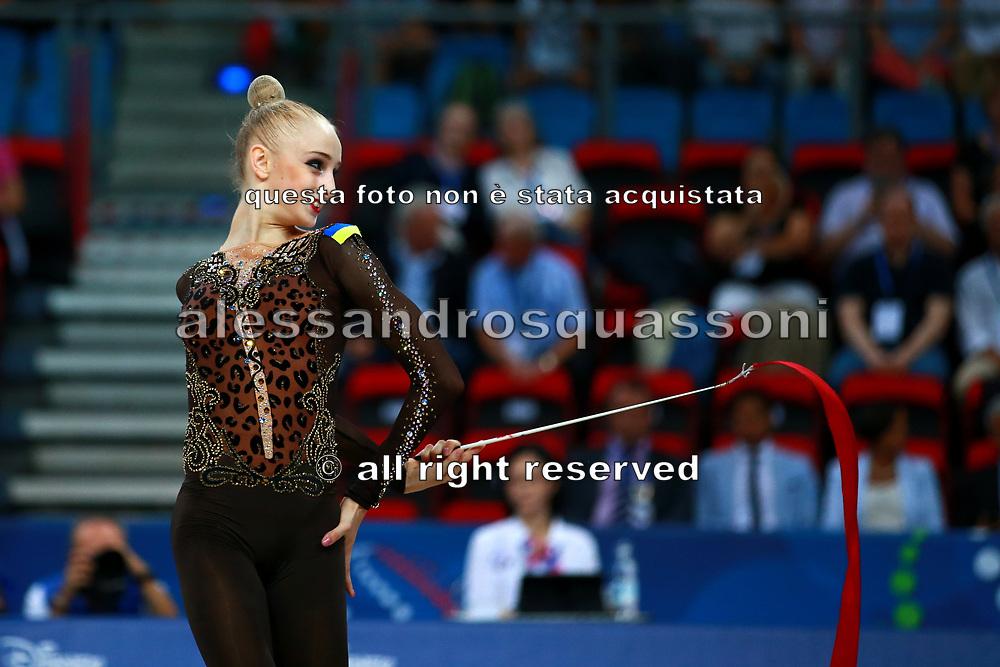 Olena Diachenko was born on June 15, 2001 in Kiev, Ukraine. She is a young Ukrainian rhythmic gymnast, she was also twice Ukrainian national junior champion in 2015 2016.