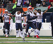 Stephon Gilmore returns an interception 64 yards for a touchdown - his second career touchdown.