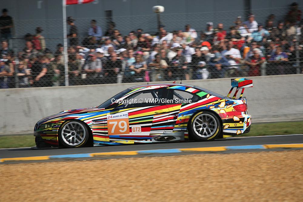 #79 BMW M3 E92 - BMW Motorsport, LMGT2 Le Mans 24H 2010