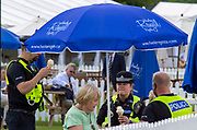 Henley on Thames, England, United Kingdom, 3rd July 2019, Henley Royal Regatta, The Local Force, enjoy, an Ice Cream,  Henley Reach, [© Peter SPURRIER/Intersport Image]<br /><br />11:23:42 1919 - 2019, Royal Henley Peace Regatta Centenary,