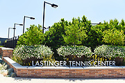 Lastinger Tennis Center Signage at Chapman University