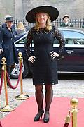 Prinsjesdag 2013 - Aankomst Parlementariërs bij de Ridderzaal op het Binnenhof.<br /> <br /> Op de foto:  Melanie Schultz van Haegen - Minister van Infrastructuur en Milieu