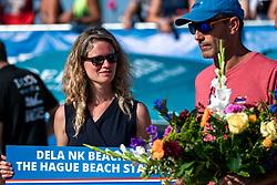 25-08-2019 NED: DELA NK Beach Volleyball, Scheveningen<br /> Last day NK Beachvolleyball / Dela