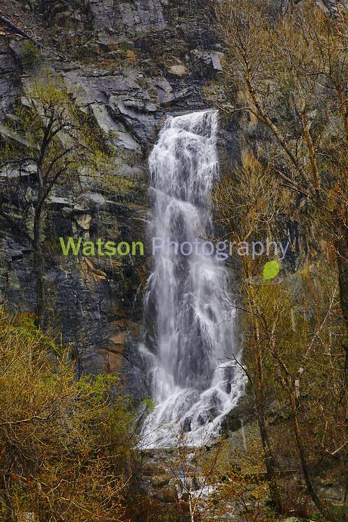 Spring Snow at Bridal Veil Falls