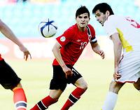 Fotball , 11. juni 2013 , Privatkamp , Norge - Makedonia<br /> Norway - FYR Macedonia<br /> <br /> Tarik Elyounoussi , Norge