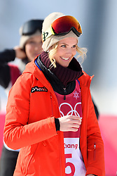 February 19, 2018 - Pyeongchang, SOUTH KOREA - 180219 Silje Norendal of Norway after the Women's Big Air Qualification during day ten of the 2018 Winter Olympics on February 19, 2018 in Pyeongchang..Photo: Carl Sandin / BILDBYRÃ…N / kod CS / 57999_306 (Credit Image: © Carl Sandin/Bildbyran via ZUMA Press)