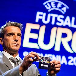 20170929: SLO, Futsal - UEFA Futsal EURO 2018 Draw in Ljubljana