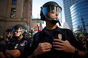 Thousands of activists protested the 2008 Republican National Convention in St. Paul, MN from September 1-4. While some marches were peaceful, others led to violence by both the protesters and riot police.