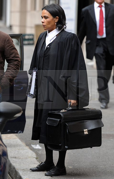 © Licensed to London News Pictures. 08/10/14. CAPE TOWN, SOUTH AFRICA -  State prosecutor, Advocate Shireen Riley, arrives at court during Day 3 of the Shrien Dewani trial at the Cape High Court before Judge Jeanette Traverso. Dewani is caused of hiring hit men to murder his wife, Anni. Anni Ninna Dewani (née Hindocha; 12 March 1982 – 13 November 2010) was a Swedish woman who, while on her honeymoon in South Africa, was kidnapped and then murdered in Gugulethu township near Cape Town on 13 November 2010. Photo credit : Roger Sedres/LNP