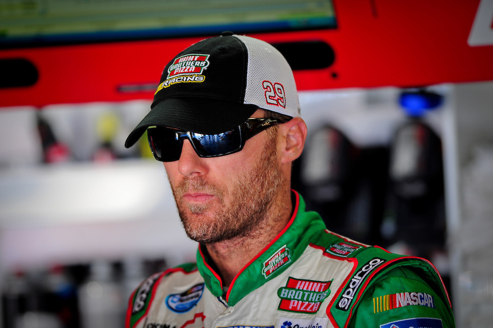 May 24, 2012; Concord, NC USA; NASCAR Sprint Cup Series driver Kevin  Harvick (29) during  for the Coca-Cola 600 at Charlotte Motor Speedway. Photo by Kevin Liles/kevindliles.com