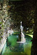 The grotto at The Old Rectory, Chumleigh, Devon <br /> CREDIT: Vanessa Berberian for The Wall Street Journal<br /> LUXRENT-Nanassy/Chulmleigh