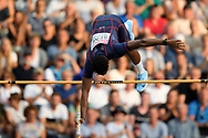 Sene Alioune competes in men pole vault during the European Championships 2018, at Olympic Stadium in Berlin, Germany, Day 6, on August 12, 2018 - Photo Philippe Millereau / KMSP / ProSportsImages / DPPI