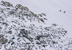 THEMENBILD - Skitourengeher beim Aufstieg. Die Hochalpenstrasse verbindet die beiden Bundeslaender Salzburg und Kaernten und ist als Erlebnisstrasse vorrangig von touristischer Bedeutung, aufgenommen am 27. Mai 2020 in Fusch a.d. Glstr., Österreich // Ski tourers during ascent. The High Alpine Road connects the two provinces of Salzburg and Carinthia and is as an adventure road priority of tourist interest, Fusch a.d. Glstr., Austria on 2020/05/27. EXPA Pictures © 2020, PhotoCredit: EXPA/ JFK
