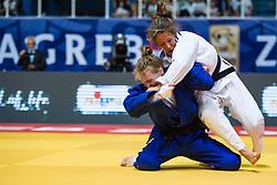 VERMEER  Sanne of Netherlands competes on July 27, 2019 at the IJF World Tour, Zagreb Grand Prix 2019, in Dom Sportova, Zagreb, Croatia. Photo by SPS / Sportida