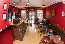 Inside Rutherfords Micropub in Kelso.