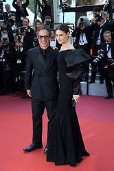 May 25, 2019 - Cannes, France - 72nd Cannes Film Festival 2019, Closing Ceremony Red Carpet. Pictured: Gael Garcia Bernal, Fernanda Aragones (Credit Image: © Alberto Terenghi/IPA via ZUMA Press)
