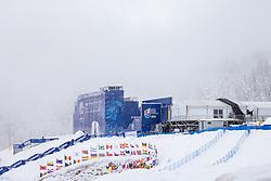 10.02.2021, Cortina, ITA, FIS Weltmeisterschaften Ski Alpin, Vorberichte, Die alpine Ski-Weltmeisterschaft findet von 8. bis 21. Februar 2021 in Cortina d'Ampezzo statt, im Bild Stadio delle Tofane // Stadium delle Tofane during preparations, the Alpine World Ski Championships will be held in Cortina d'Ampezzo from 8 to 21 February 2021, FIS Alpine Ski World Championships 2021 in Cortina, Italy on 2021/02/10. EXPA Pictures © 2021, PhotoCredit: EXPA/ Johann Groder
