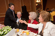 Mark Matson for American-Statesman (5/4/10)  The Texas State Prayer Breakfast, part of the National Day of Prayer activites,  was held Tuesday morning at the Doubletree Hotel in Austin. Texas Governor Rick Perry, who spoke at the event,  greets  (l-r)  Coy Hearin, Dorothy Hearin and Lorine Tweedle.