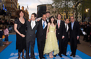 """Anna Chancellor, Martin Freeman, Stephen Fry, Zooey Deschanel,  Sam Rockwell  and Bill Nighy. arrive at the World Premiere of """"Hitchhiker's Guide To The Galaxy"""" at UCI Empire, Leicester Square on April 20, 2005 in London.. ONE TIME USE ONLY - DO NOT ARCHIVE  © Copyright Photograph by Dafydd Jones 66 Stockwell Park Rd. London SW9 0DA Tel 020 7733 0108 www.dafjones.com"""