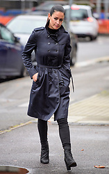 © Licensed to London News Pictures. 04/09/2017. Slough, UK. KIRSTY GALLACHER arrives at Slough Magistrates Court in Berkshire, where she faces a drink-driving offence. Sky Sports News presenter Kirsty Gallacher has been charged with drink driving after a night out in Eton, Berkshire, on August 12, 2017. Photo credit: Ben Cawthra/LNP