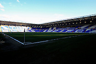 A general view of St. Andrew's stadium before the match.<br /> Sky Bet Football League Championship match, Birmingham City v Brighton & Hove Albion at St.Andrew's Stadium in Birmingham, the Midlands on Tuesday 5th April 2016.<br /> Pic by Ian Smith, Andrew Orchard Sports Photography.