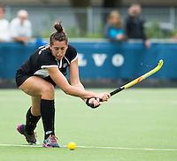 BREDA (Neth.)  Stephanie Dickins of NZ during the match  New Zealand vs England U21 women . Volvo Invitational Tournament U21. COPYRIGHT KOEN SUYK