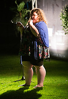 Alison Spittle live at the picnic at the castle,Warwick Castle photo by Brian Jordan