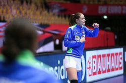 HERNING, DENMARK - DECEMBER 6: Ana Gros during the EHF Euro 2020 Group A match between Slovenia and France in Jyske Bank Boxen, Herning, Denmark on December 6, 2020. Photo Credit: Allan Jensen/EVENTMEDIA.