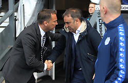 Derby County Manager Darren Wassall (L) and Sheffield Wednesday Manager Carlos Carvalhal - Mandatory by-line: Jack Phillips/JMP - 23/04/2016 - FOOTBALL - iPro Stadium - Derby, England - Derby County v Sheffield Wednesday - Sky Bet Championship
