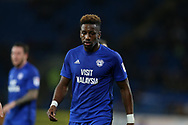 Omar Bogle of Cardiff city looks on. EFL Skybet championship match, Cardiff city v Ipswich Town at the Cardiff city stadium in Cardiff, South Wales on Tuesday 31st October 2017.<br /> pic by Andrew Orchard, Andrew Orchard sports photography.