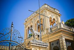 Secretaria de Cultura, também conhecido por Palácio Pedro Osório. FOTO: Marcos Nagelstein/Agência Preview