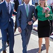 NLD/Rhenen/20120430 - Koninginnedag 2012 Rhenen, Flors, Bernhard Jr. en partner Annet Sekreve