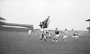 All Ireland Senior Football Championship Final, Dublin v Galway, 22.09.1963, 09.23.1963, 22nd September 1963, Dublin 1-9 Galway 0-10,...N Tierney (3) Galway Full Back punches clear, .