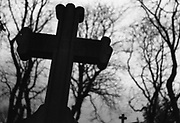 Saturday November 1st 2008. Paris, France..At Le Pere Lachaise, the biggest cemetery in Paris..20th Arrondissement..