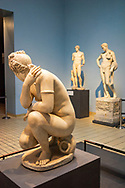 The Lely Venus- marble statue of the crouching Venus. Copy of a Hellenistic original by Doidalses