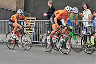 Women Road Race 129,4 km, EllenVan Dijk ( Netherlands) during the Road Cycling European Championships Glasgow 2018, in Glasgow City Centre and metropolitan areas Great Britain, Day 4, on August 5, 2018 - Photo Laurent lairys / ProSportsImages / DPPI