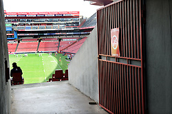 10/03/2018 A 'no smoking' sign on a security gate as your enter the stadium. The Emirates Airlines Stadium, Ellis Park, Johannesburg, South Africa. Picture: Karen Sandison/African News Agency (ANA)